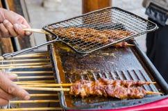 Lamb Kebab Royaltyfria Foton