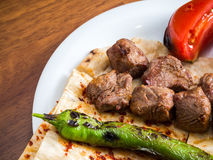 Lamb kebabs Royalty Free Stock Image