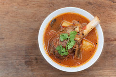 Lamb knuckle soup Royalty Free Stock Photography