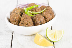 Lamb Koftas Royalty Free Stock Image
