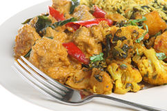 Lamb Korma Indian Curry Stock Image