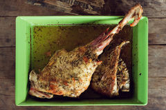 Lamb leg Stock Photos