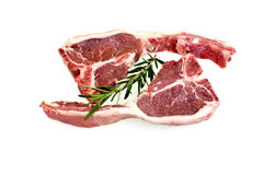 Lamb Loin Chops Stock Photography