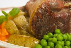 Lamb Lunch Royalty Free Stock Photo
