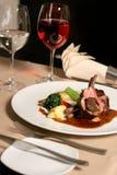 Lamb meal Royalty Free Stock Photos