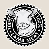 Lamb Meat 100% Stock Photo