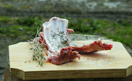 Lamb meat. For a delicious barbecue Stock Image
