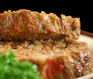 Lamb Meatloaf Sliced Royalty Free Stock Photo