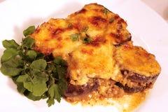 Lamb moussaka Royalty Free Stock Image