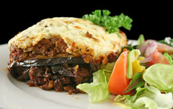 Lamb Moussaka Stock Image