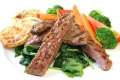 lamb obiad Zdjęcia Stock
