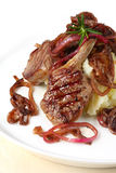 lamb obiad Zdjęcie Stock