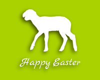 Lamb paper style Royalty Free Stock Images