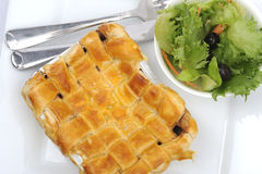 Lamb pastry tart Royalty Free Stock Images