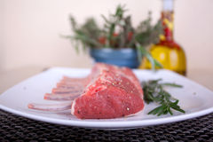 Lamb rack Royalty Free Stock Images