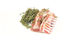 Lamb rib stock images