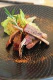 Lamb ribs stock photography