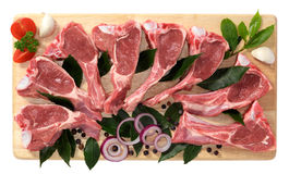 Lamb ribs Stock Photo