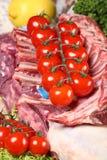 Lamb ribs Royalty Free Stock Photo