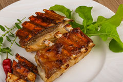 Lamb ribs Stock Photography