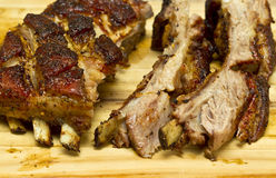 Lamb ribs sliced Stock Photos