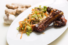 Lamb ribs Stock Photos