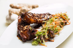 Lamb ribs Royalty Free Stock Photography
