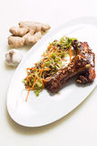Lamb ribs Stock Image
