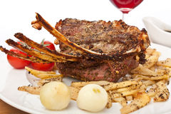 Lamb Ribs with Thyme Royalty Free Stock Image