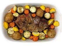 Lamb Roast Stock Photography