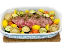 Lamb Roast Royalty Free Stock Image