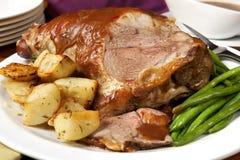 Lamb Roast royalty free stock photography