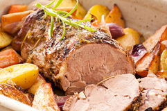 Lamb roast Stock Images