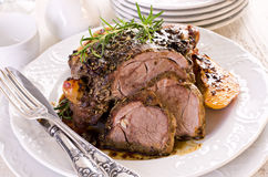 Lamb Roast Royalty Free Stock Photography