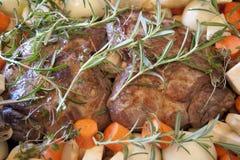 Lamb Roast Stock Image