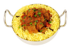 Lamb Rogan Josh Curry Meal Royalty Free Stock Photos