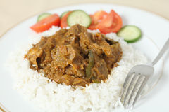 Lamb rogan josh horizontal Royalty Free Stock Image