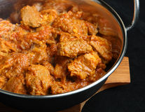 Lamb Rogan Josh Indian Curry Stock Images