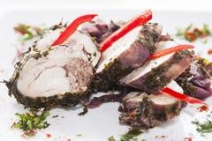 Lamb rolls Stock Image