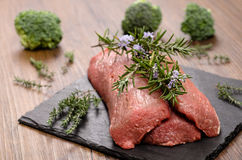 Lamb with rosemary Stock Images