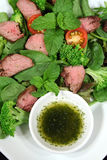 Lamb Salad 2 Royalty Free Stock Image