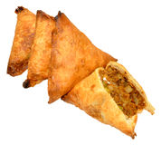 Lamb Samosas Royalty Free Stock Photography