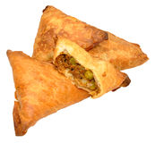 Lamb Samosas Stock Photography
