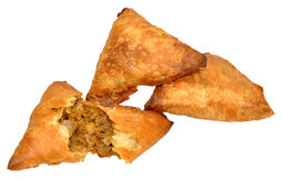 Lamb Samosas Royalty Free Stock Photo