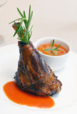 Lamb shank Stock Photos