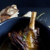 Lamb shank Royalty Free Stock Photo