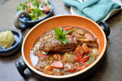 Lamb shank Stock Photo