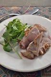 Lamb shank. Italian cuisine stewed lamb shank Stock Photography