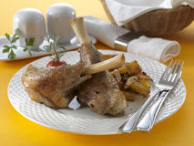 Lamb shank Pékné Royalty Free Stock Photo