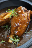 Lamb Shanks in Gravy Stock Image